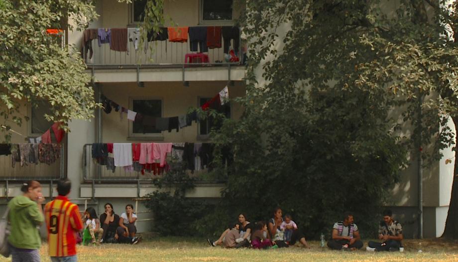 Flüchtlingsunterkunft Unna-Massen